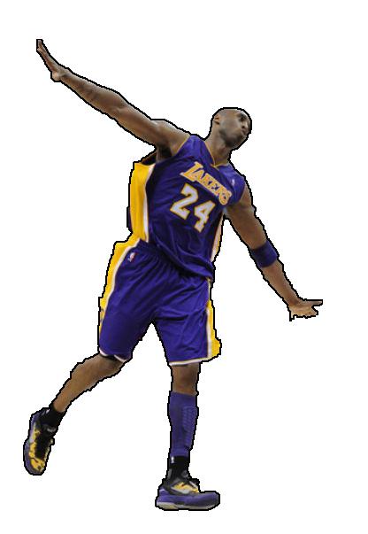 Kobe Bryant Flying PNG