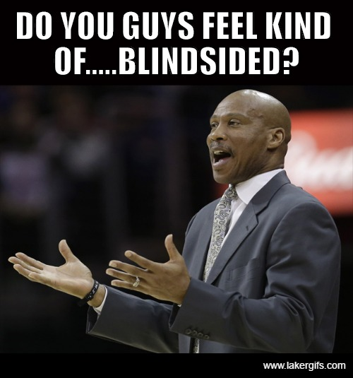 Byron wonders if the Buss kids felt blindsided