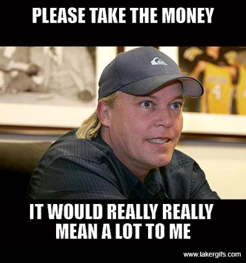 Jim Buss Desperate to sign a Max Free Agent