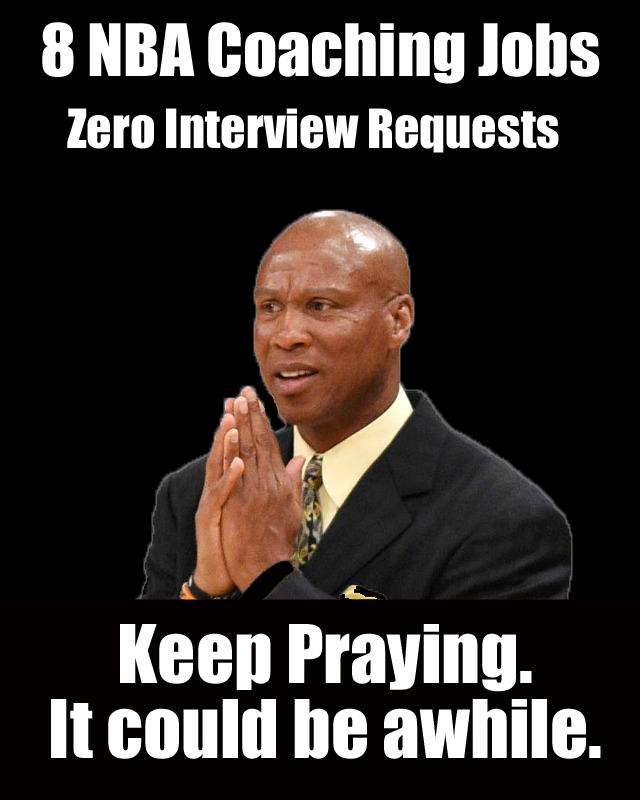 Byron Scott praying for an interview Byron Scott gif