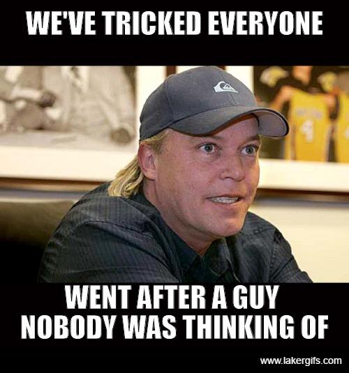 Jim Buss Tricking Everyone