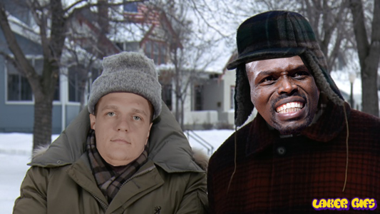 Grumpy Old Men Timofey Mozgov and Luol Deng