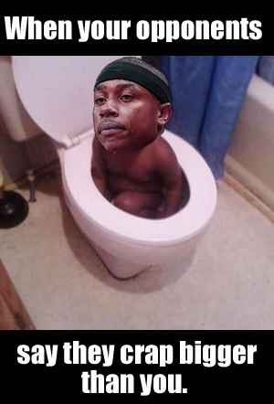 Isaiah Thomas in the toilet