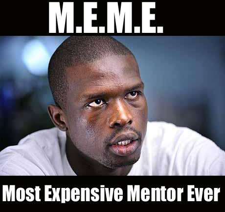 Luol Deng most expensive Laker mentor ever