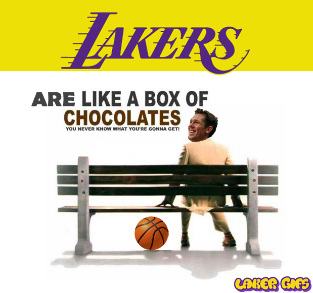 Lakers Box of Chocolates