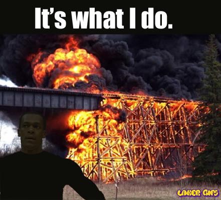 Rajon Rondo burning bridges