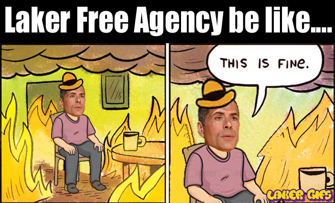 Rob Pelinka this is fine