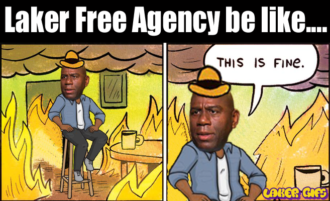 Magic Johnson this is fine